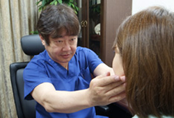 リッツ美容外科のカウンセリングルーム